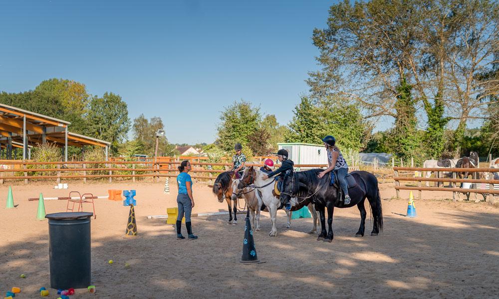 Les cours d'équitation de Touraine Cheval
