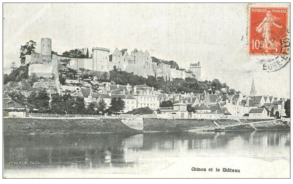 Cartes postales anciennes - Chinon
