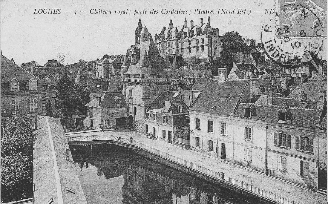 Cartes postales anciennes - Loches
