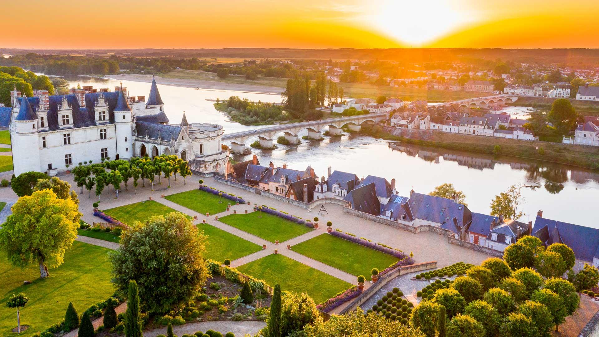 Le château royal d'Amboise, refuge LPO.