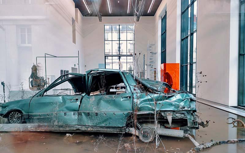 Centre de Création Contemporaine Olivier Debré, à Tours, consacré à l'art contemporain - Times in collapse, de Nicolás Lamas. Une nouvelle exposition à découvrir dans la nef du CCCOD.
