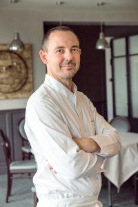 Jérôme Roy - restaurant L'Opidom à Fondettes - une étoile au guide Michelin 2021