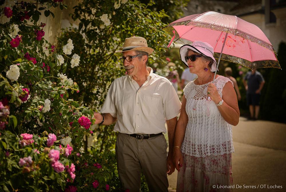Le festival des roses de Chédigny