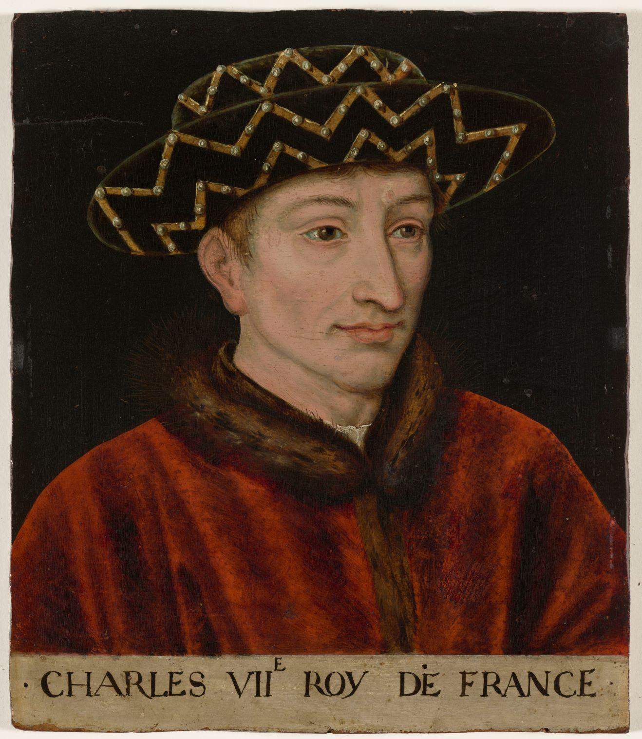 Charles VII / Crédit : Domaine de Chantilly - Michel Urtado
