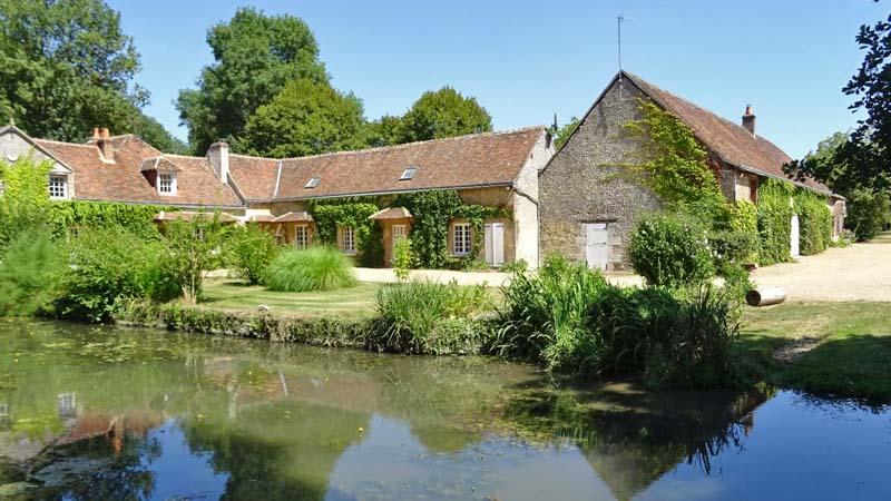 Week-end pêche dans le gîte du Verger et son étang privé - Indre-et-Loire
