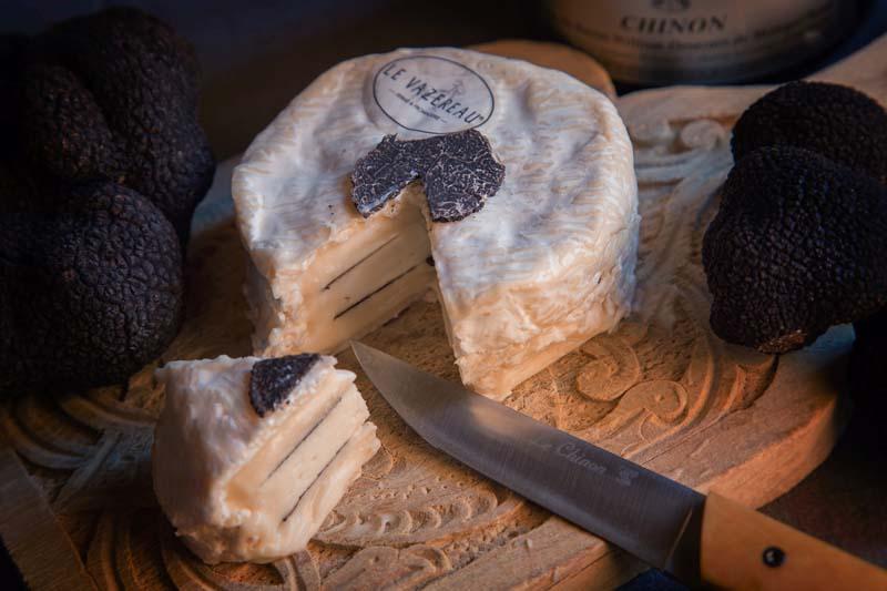Le Chinonais - Fromage du Vazereau, à la truffe.