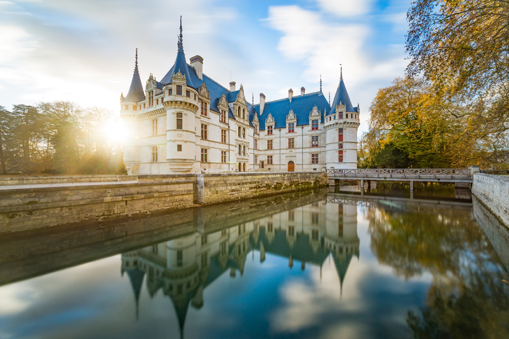 Château d'Azay-le-Rideau - Joël Klinger Photography