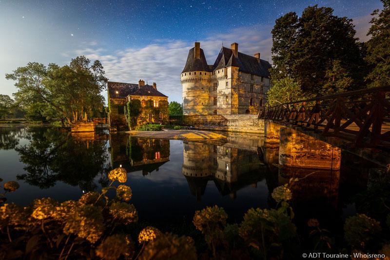 Animations nocturnes au château de l'Islette - Sons et lumières.