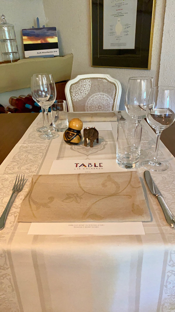 Table by Le Calabash-3