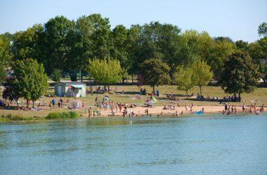 Camping Les Coteaux du Lac – Le lac de Chemillé-sur-Indrois