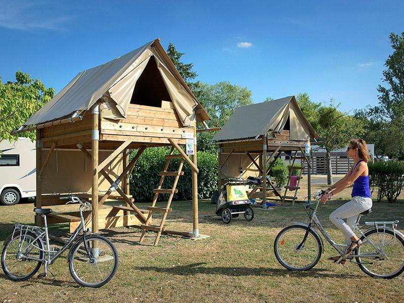 Abris Cyclos - Camping Onlycamp Tours Val de Loire Saint-Avertin