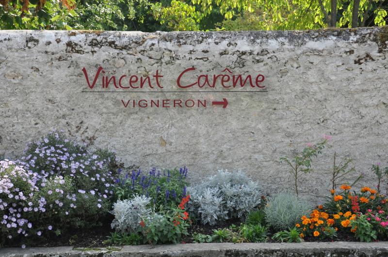 Où sortir ce week-end ? Sortie chez un vigneron, au domaine Vincent Carème.