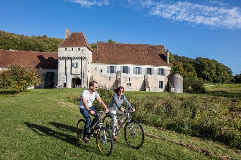 Château-Monastère de la Corroirie - Boucle vélo n°5