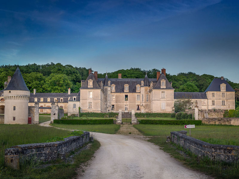 Le château de Gizeux