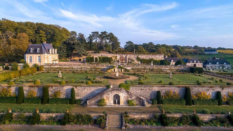 Les jardins du château de Valmer