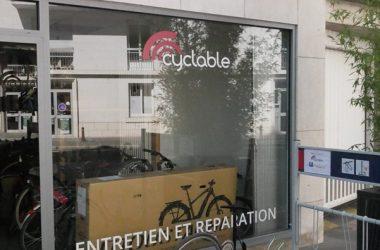 Cyclable-Tours – Ateliers de réparation