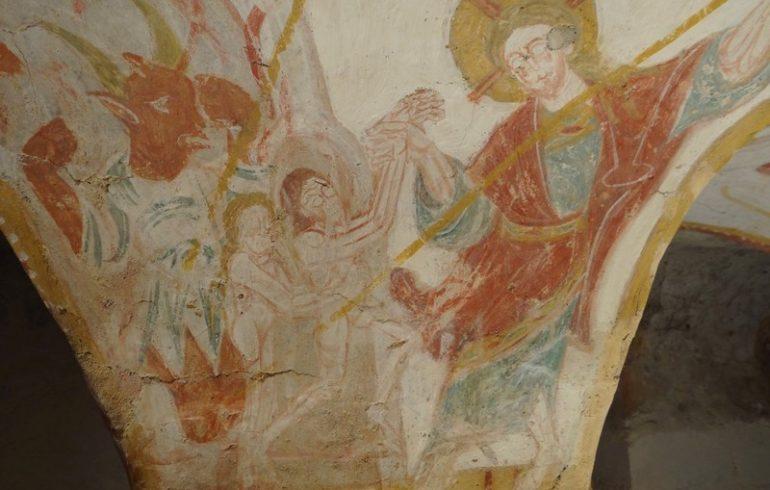 Fresques de Tavant-4