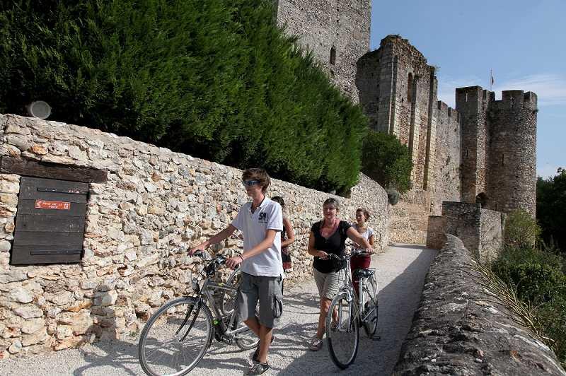 L'Indre à vélo - Forteresse de Montbazon