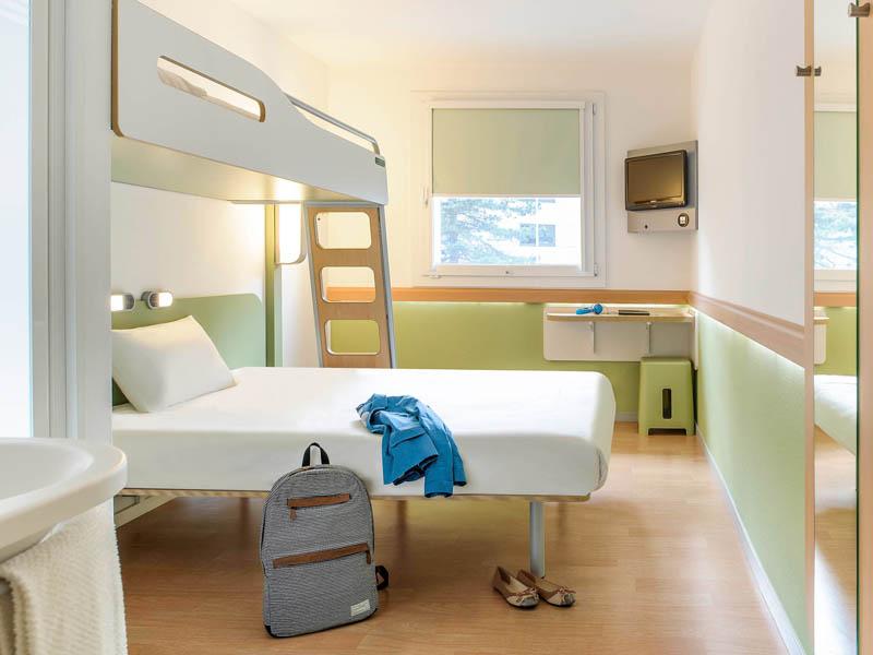 Ibis Budget Tours Nord à TOURS - Hôtels 2 étoiles -