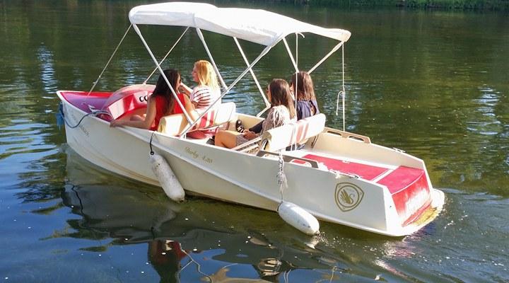 Chenonceaux en bateau électrique-1