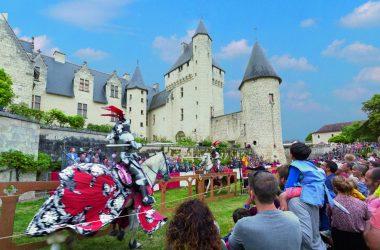 Château du Rivau – Joutes équestres
