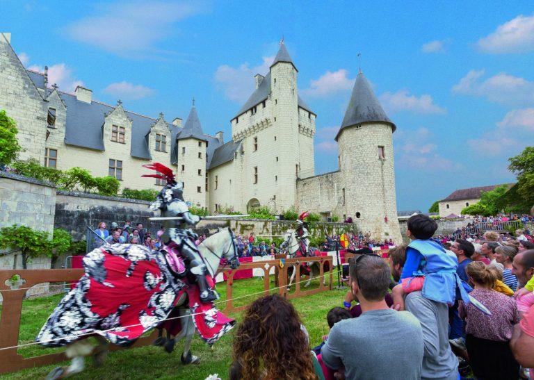 Joutes équestres au Château du Rivau-1