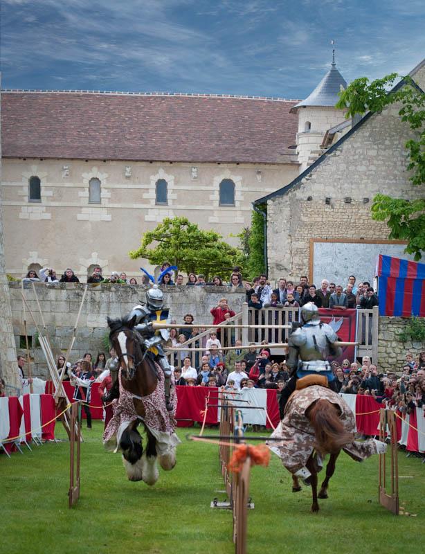 Joutes équestres au Château du Rivau-2