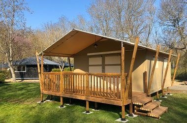 Lodge camping les Granges Luynes