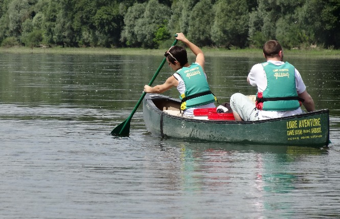 Loire Aventure, balades libres ou guidées à bord de canoës Canadiens-3