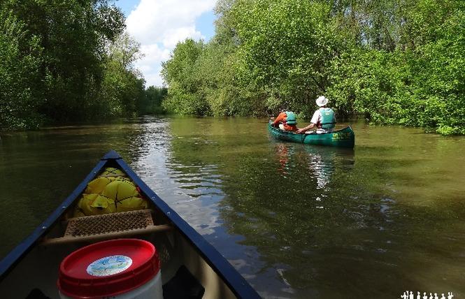 Loire Aventure, balades libres ou guidées à bord de canoës Canadiens-1