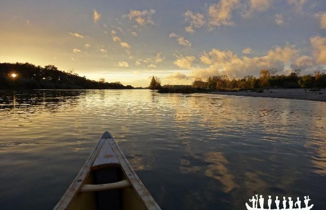 Loire Aventure, balades libres ou guidées à bord de canoës Canadiens-7