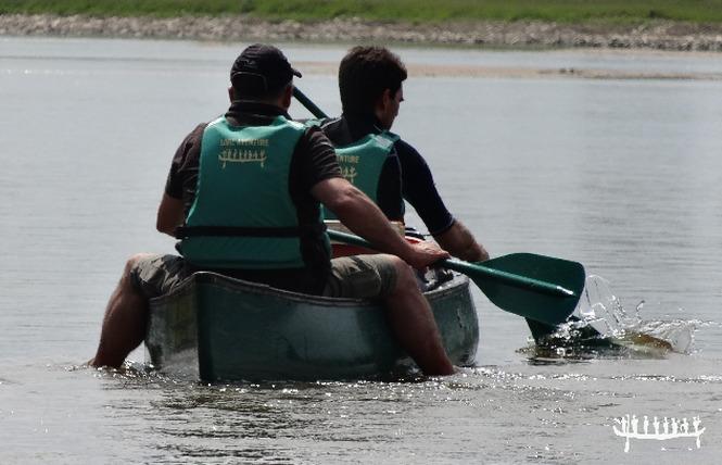 Loire Aventure, balades libres ou guidées à bord de canoës Canadiens-11