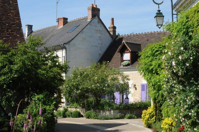 """Village de Chédigny """"Jardin Remarquable""""et fleur d'or-1"""