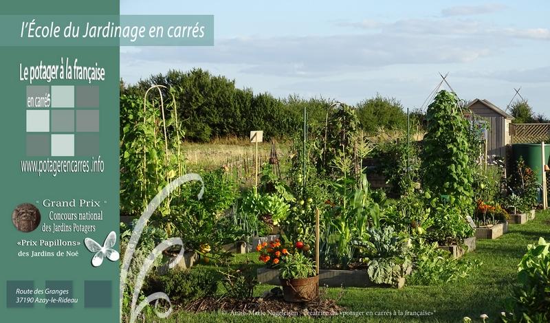 Le Potager en carrés à la française – École du Jardinage en Carrés-2