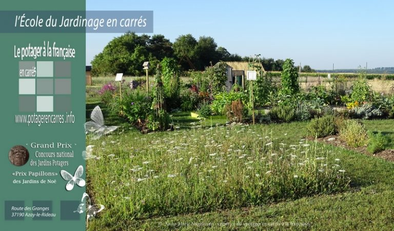 Le Potager en carrés à la française – École du Jardinage en Carrés-4