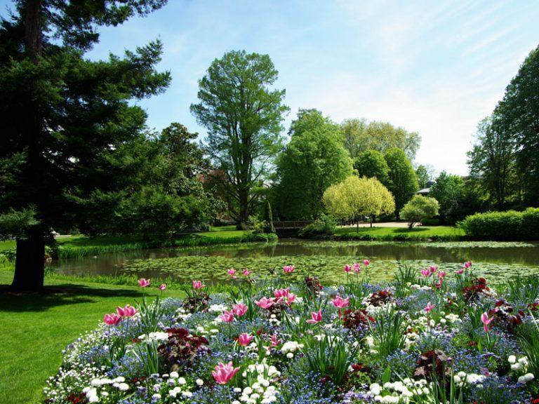 Jardin des Prébendes d'Oé-1