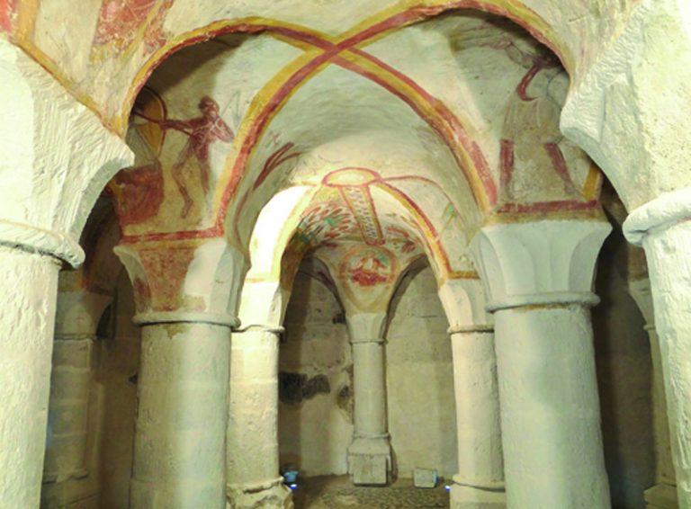 Fresques de Tavant-1
