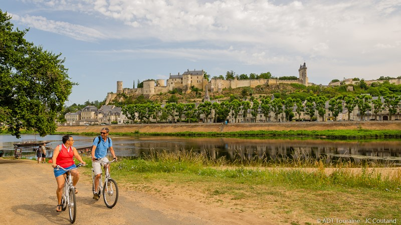 The royal fortress of Chinon