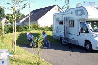 Aire de services du lac Mousseau – Stationnement camping-car à Avoine.