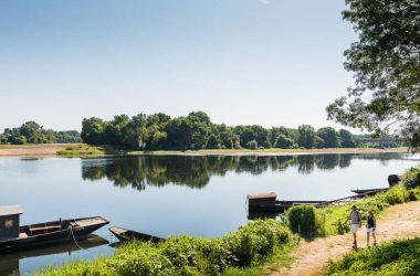Confluence Loire-Vienne à Candes-Saint-Martin