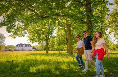Randonnée près du château de Champchevrier