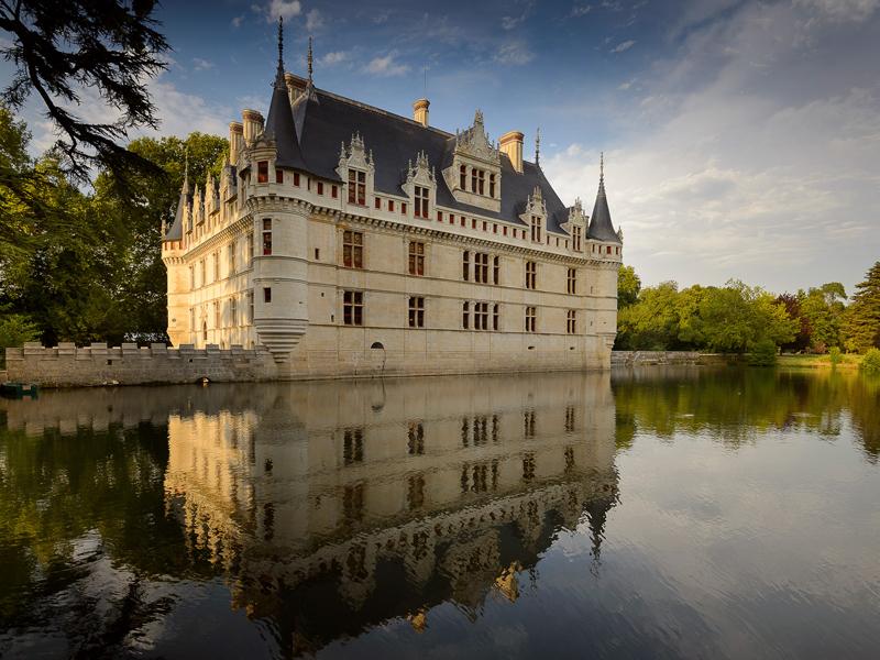 Le Château d'Azay-le-Rideau / Crédit : Léonard de Serres