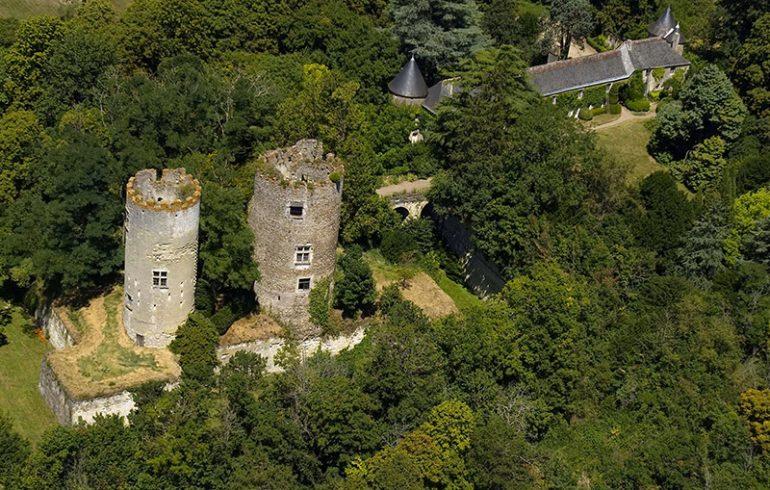 Château de Cinq-Mars et Parc-2
