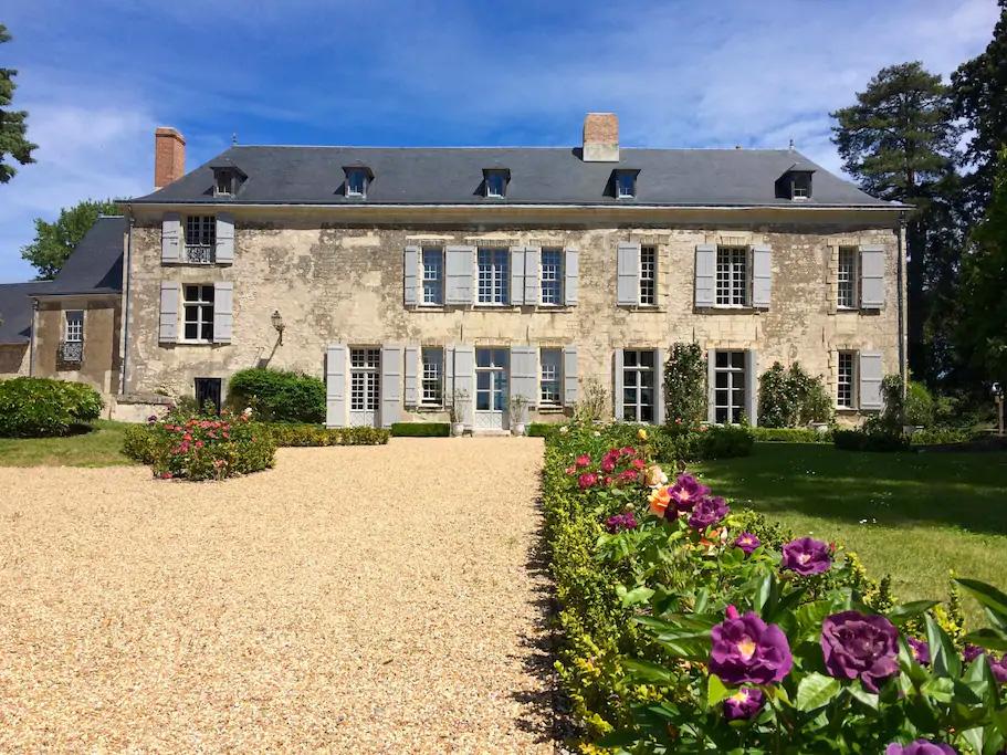 Château de Minière - Les Coteaux-sur-Loire. Refuge de la Ligue pour la Protection des Oiseaux.