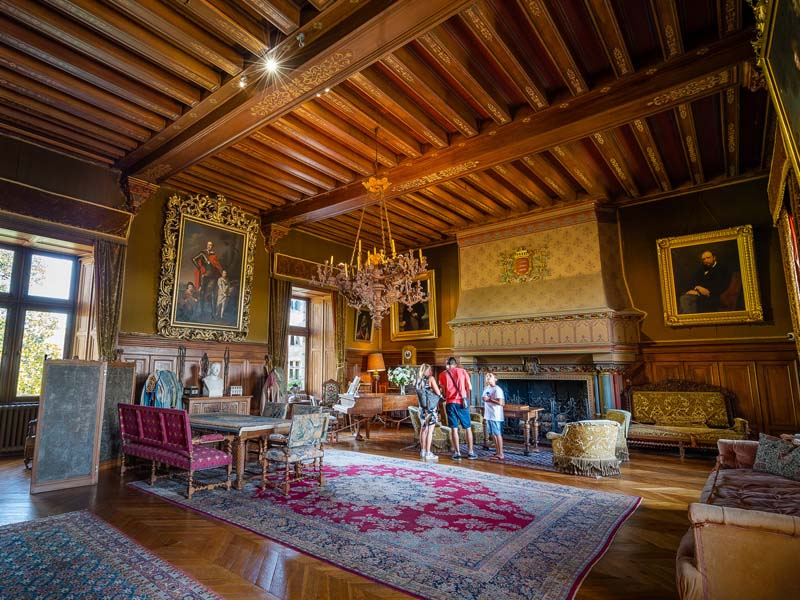 Visite du château de Montrésor