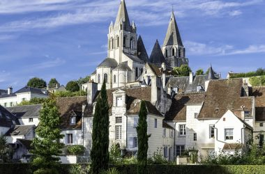 Collégiale Saint-Ours – Loches, Val de Loire, France.
