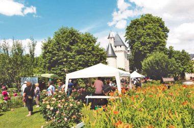 Fête des roses du château du Rivau