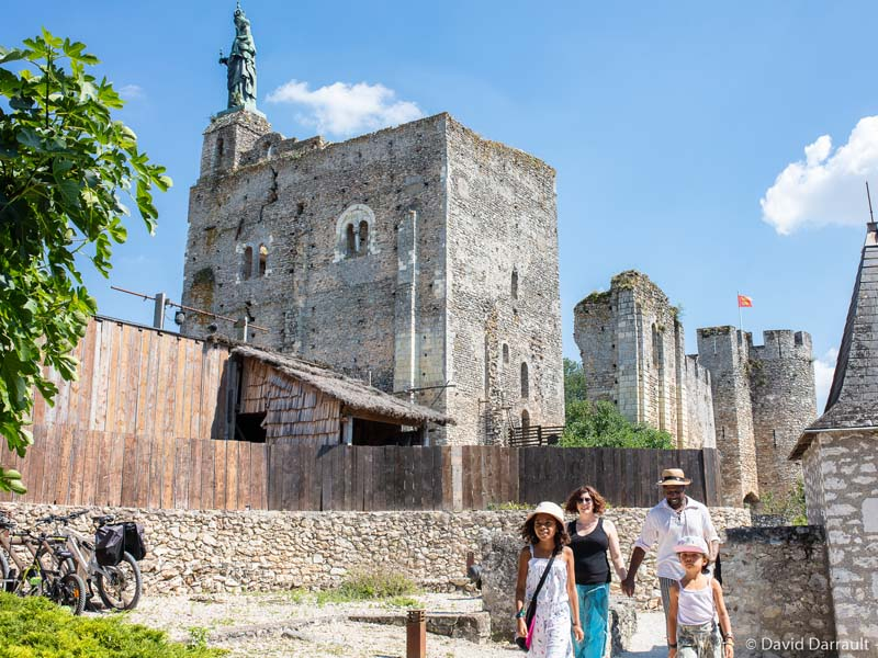 La forteresse de Montbazon