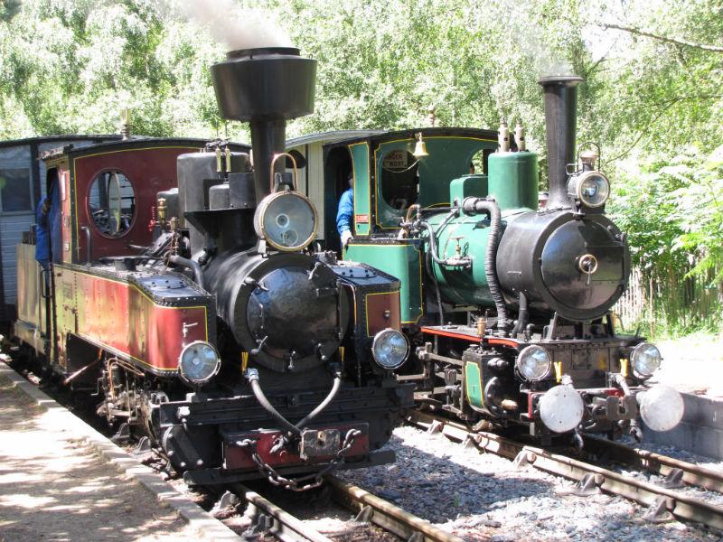 Train à vapeur de Rillé-9