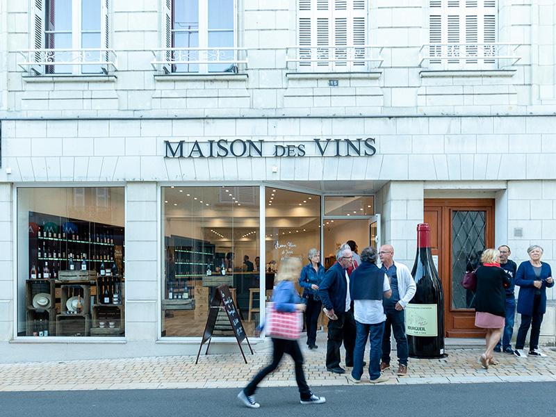 Maison des vins de Bourgueil, à Langeais.